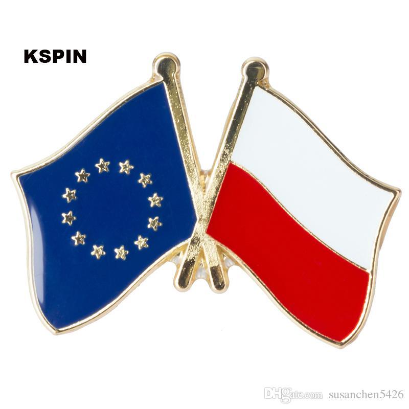 Unione europea Lussemburgo amicizia Bandiera Badge Bandiera Pin XY0074-7