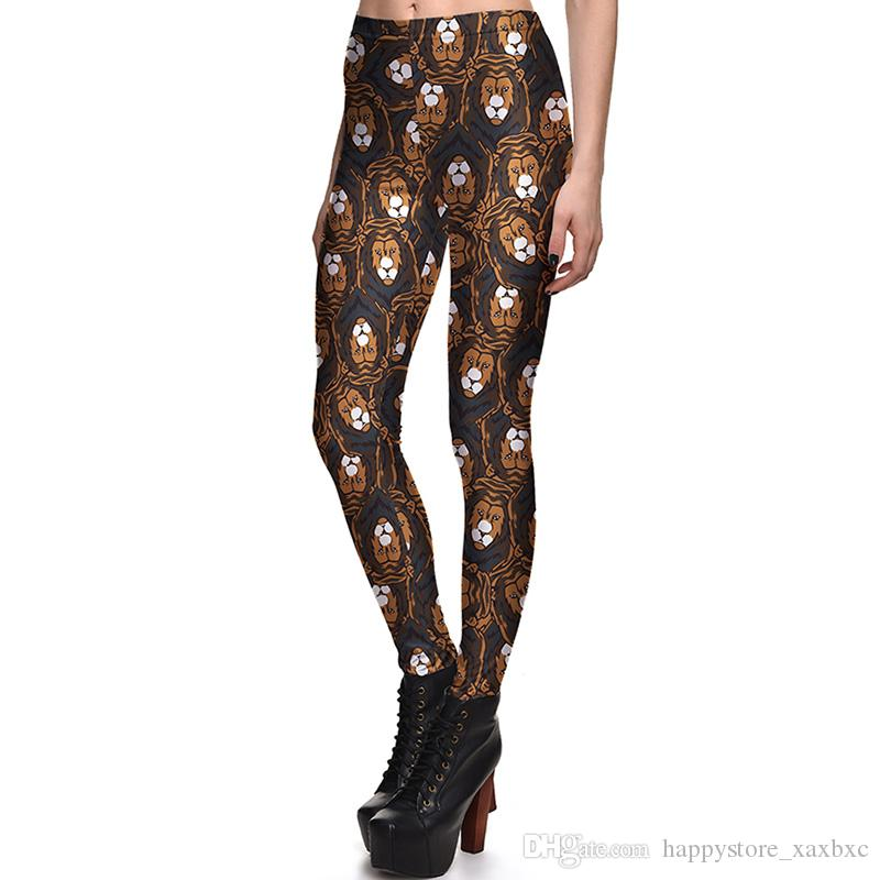 d2bd919c2d73e 2019 2017 NEW 3810 Cartoon The Lion King Prints Sexy Girl Pencil Yoga Pants  GYM Fitness Workout Polyester Women Leggings Plus Size From  Happystore_xaxbxc, ...
