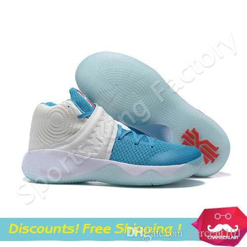 christmas basketball boots kyrie 2 christmas basketball sneakers blue kyrie irving 2 christmas men sports shoes us 7 12 basketball shoes for men kids
