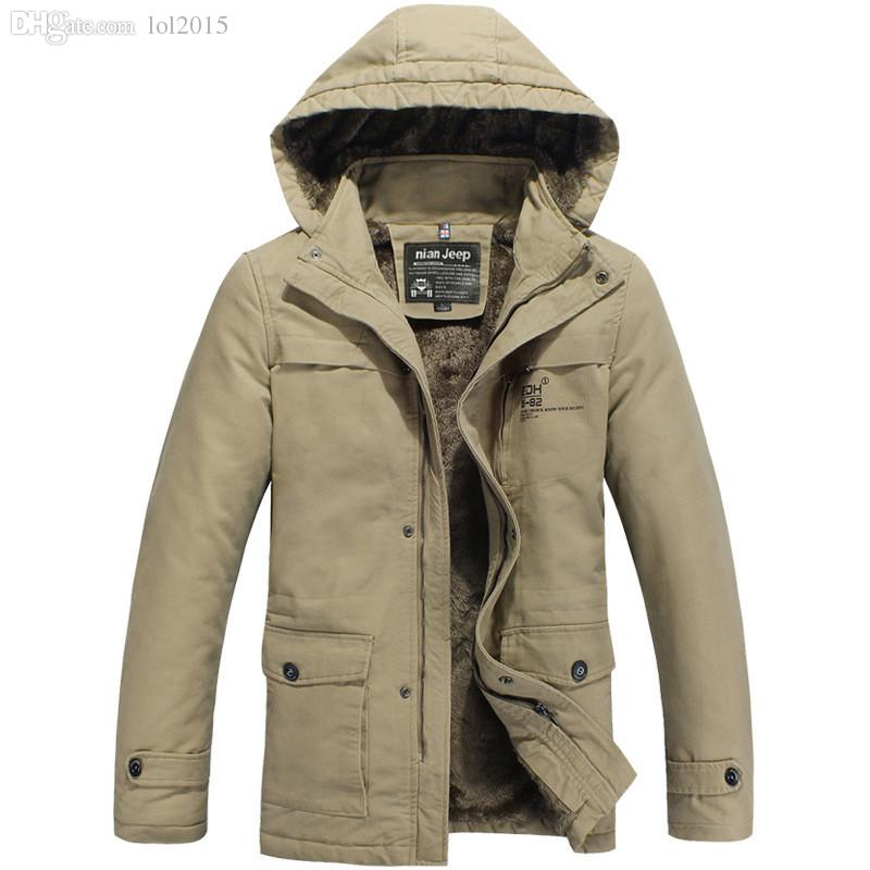 Fall Brand Men'S Winter Jacket Men Jacket Hoodies Coats Outdoor ...
