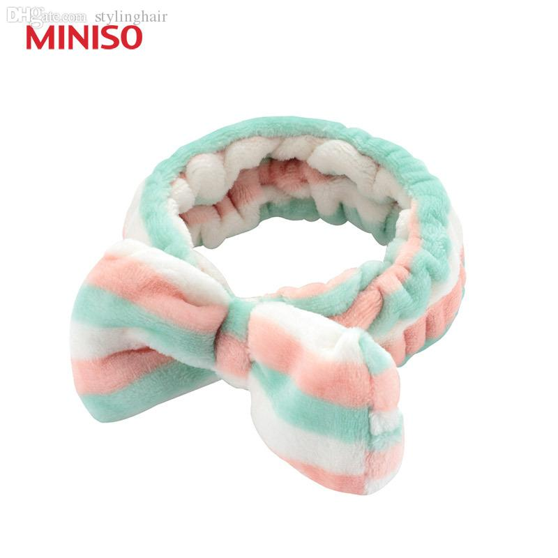Wholesale-Miniso Super Meng Wide Stripes Wrap the Hair Ribbon Headband  Ribbon Bow Hair Clip Ribbon Headband Wedding Ribbon Types Online with   21.73 Piece on ... 987003900ad