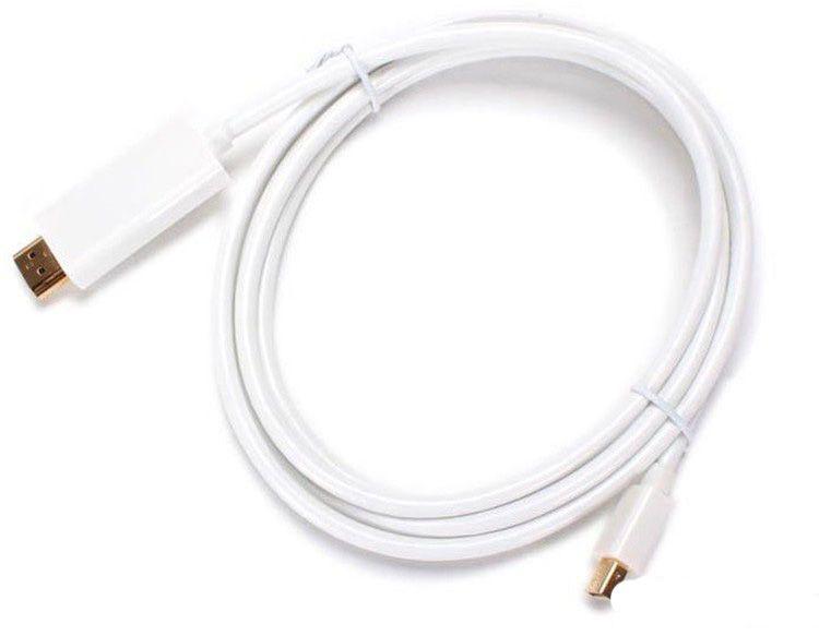 Neues Produkt! 1,83 m 6FT Thunderbolt Mini Display Port Stecker MINI DP auf HDMI Stecker Konverterkabel Für Macbook Mac Pro