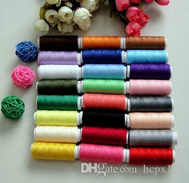 Бытовая швейная нить рука ручной катушки Spell проводки / 24 цвет