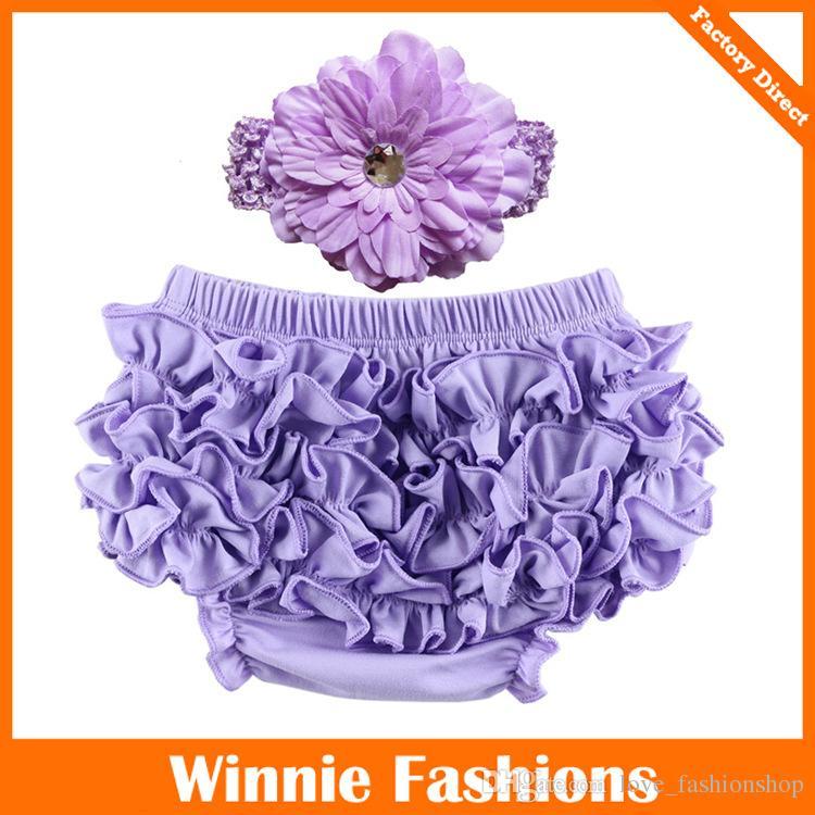 Set de diadema Bloomer de es para bebés y niñas ropa interior TUTU + gorro de diamantes Gorros para bebés Infantería pastel pantalones cortos cubiertas de pañales