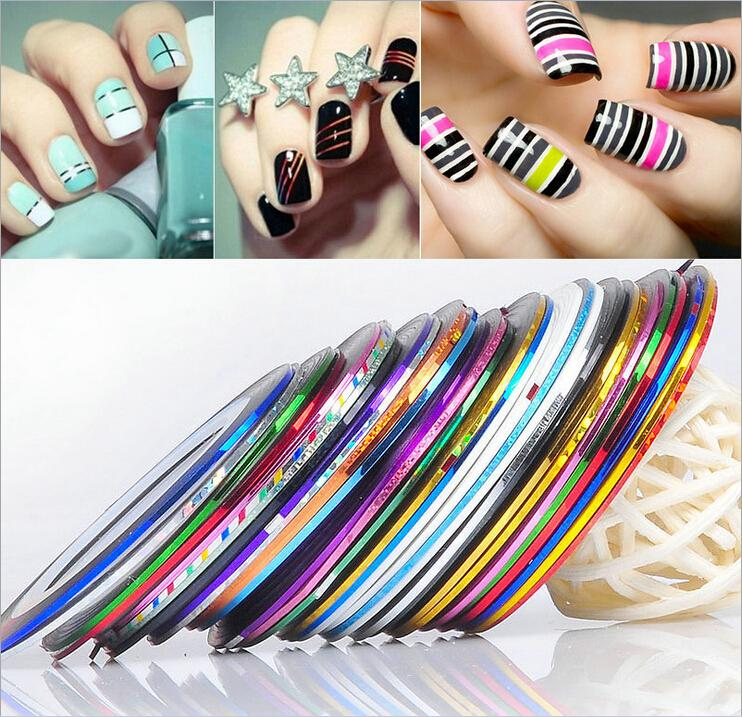 New Style Convenient Fashion Self Adhesive Striping Tape Line 3d ...