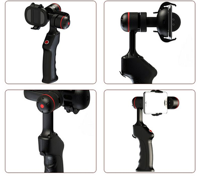 WenPod SP2 Wearable Gimbals Pro Smartphone Digital Stabilizer 2 Axis Steadicam for iPhone 6/6S Xiaomi4 for Samsung S6 edge HTC Huawei