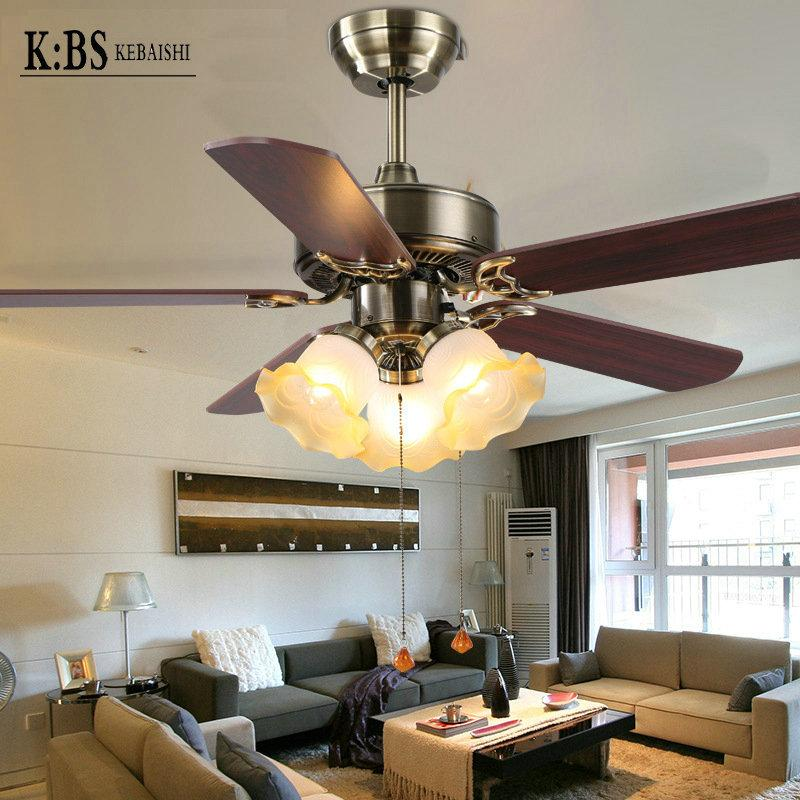 Superior 2018 European Modern Fan Light Living Room Restaurant Bedroom Ceiling Fan  Lights Fan Factory Direct Ceiling Fans From Fengaa, $134.15 | Dhgate.Com