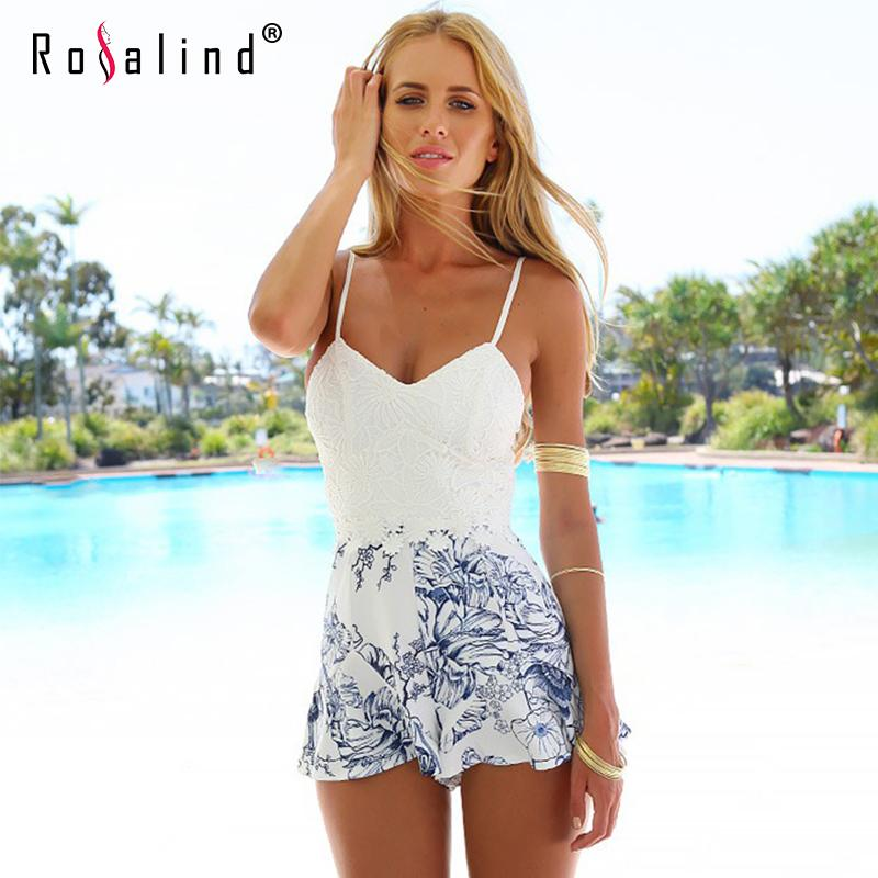 c8d4caa4be4 2016 Playsuit Rompers V-Neck Sexy Overalls For Womens Beauty Sling  Stitching Lace Beach Jumpsuit Summer Style Vestidos C3017 Playsuit Rompers  Sexy Overalls ...