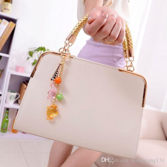 2015 New Fashion Casual Women'S Handbag Bag Purses Pu Leather ...
