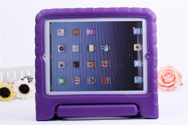 Taşınabilir Çocuklar için Güvenli Köpük Şok Proof EVA Durumda Kolu Kapak Standı iPad mini 1234 2/3/4 Hava 5 6 Pro