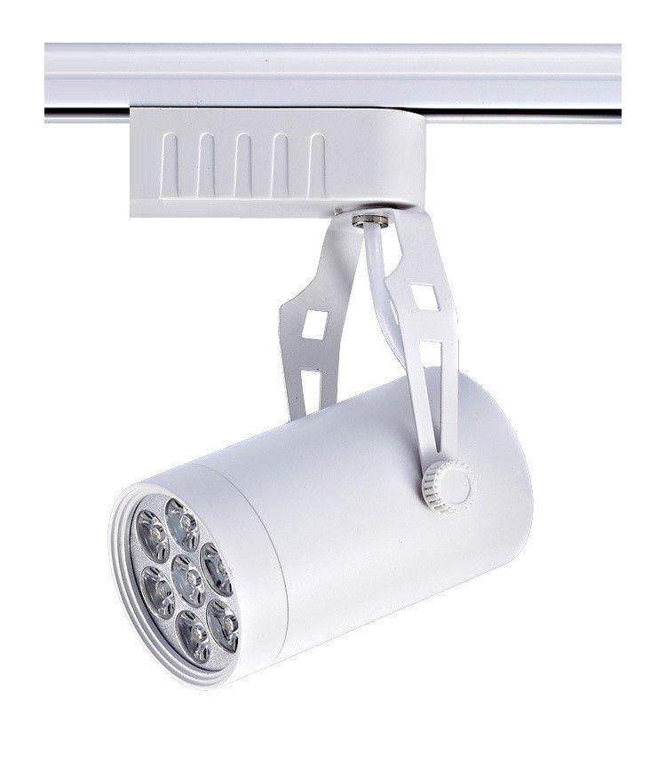 DHL Led Track Light 6W 10W 14W 24W 36W 120 Beam Angle Warm White Led Ceiling Spotlight AC 85-265V Indoor Led Spot Lighting