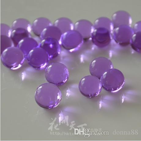 Crystal Soil Hydrogel Gel Beads Water Vase Filler Beads Clear Water