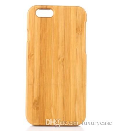 Hard Bamboo For Iphone 6 6S Case Ultra-Thin Slim Cover Mobile Phone Case For Apple Iphone 6 6S