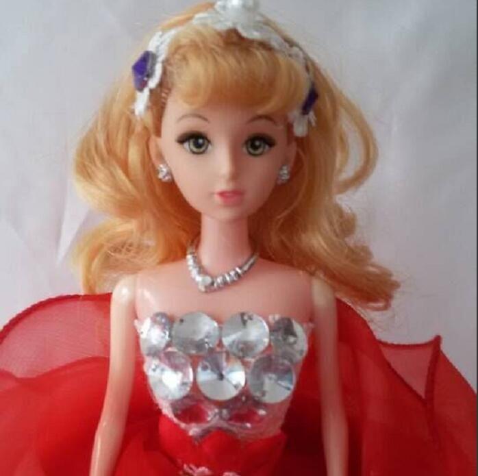 Dhl Free Hot Sale Children Barbie Doll Princess Elsa Anna Cartoon