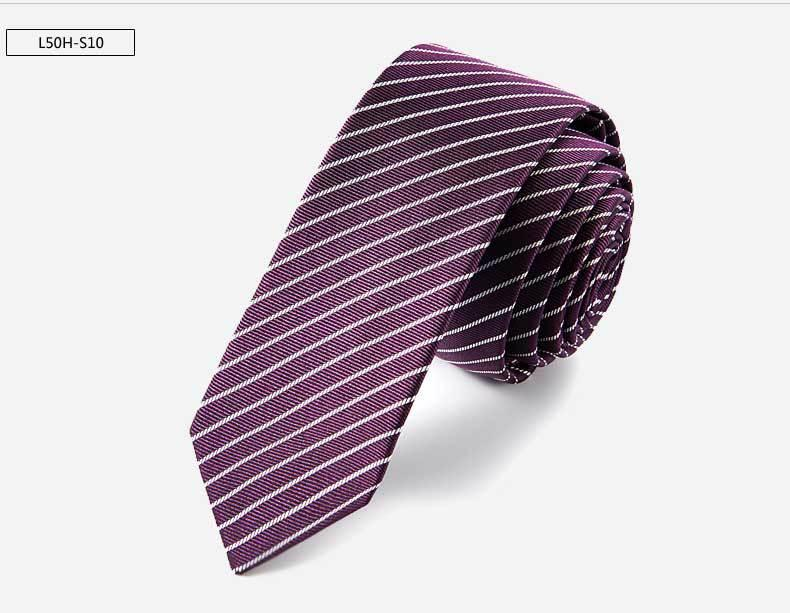 Gravata de seda pura de Alta qualidade 145 * 5 cm Men versão estreita Gravata 17 Cores Seta Gravata Skinny Cor Sólida Gravata Livre FedEx TNT