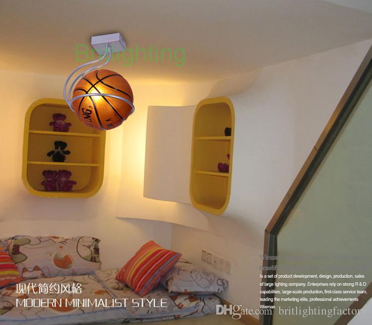 Charmant Großhandel LED Deckenleuchte Kinderzimmer Moderne Deckenleuchten Für  Schlafzimmer Basketball Beleuchtung Kinderlicht Fußballlampen Moderne  Deckenleuchten ...