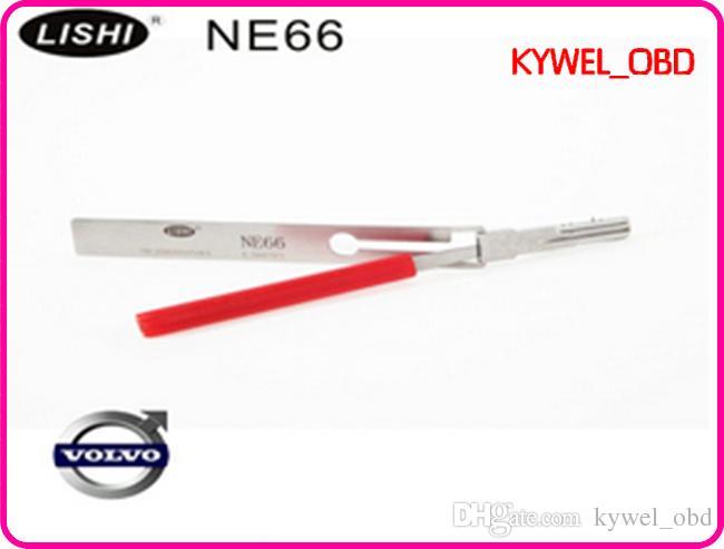 LISHI NE66 novo Volvo, Volvo S60 S70, S80, C90 lock pick ferramenta, NE66 para Volvo, abridor de ferramenta de porta de carro