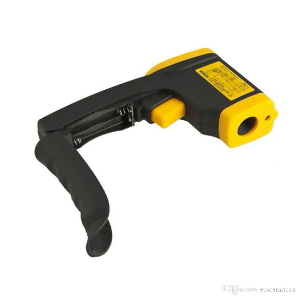 Handhållen icke-kontakt IR-laser infraröd digital termometer DT380 -50-380C GT FedEx DHL Gratis Fast Shipment