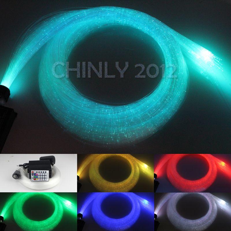 2018 Wholesale Led Fiber Optic Curtain Light Kit 10mm 4m Flash Point Optical 16w Rgbw Engine 28key Rf Remote From Caraa 15608