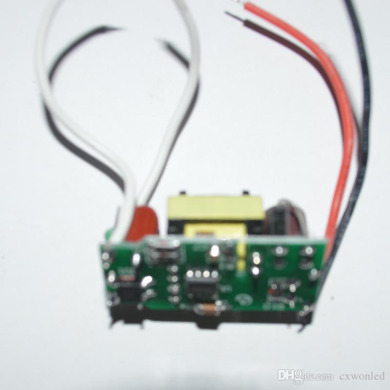 controlador de lámpara led interior 7-12 * 1W controlador de led controlador de lámpara 85W 8W 8W 9W 10W 11w 12w entrada para E27 GU10 E14 Lámpara LED de alta calidad