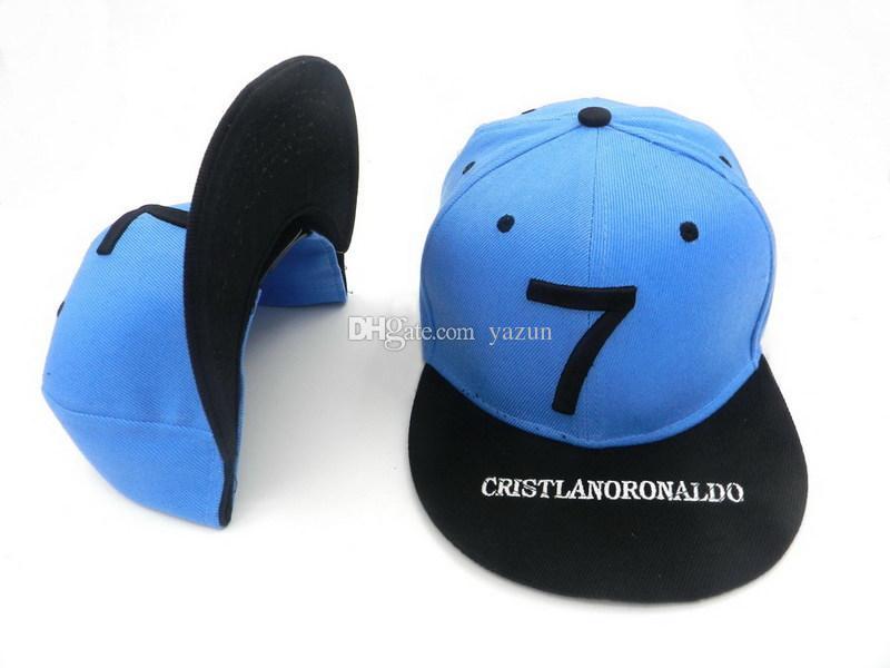 2015 Madrid CAPPELLO RARE GOLD CR7 CAP CRISTIANO RONALDO TEAM SPORT SNAPBACK Adjustable Baseball HAT Hats,Gorra LIQUIDATION-OFFER ball caps