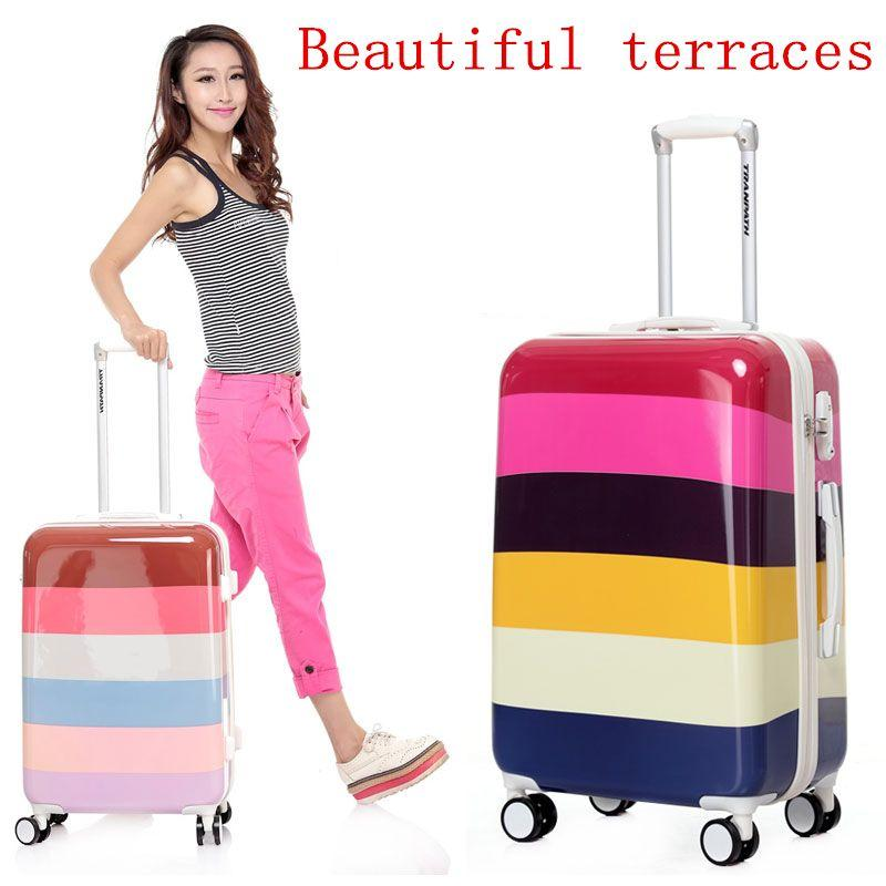 28 Large Capacity,Women And Men Luggage Bag,Hard Shell,Universal ...