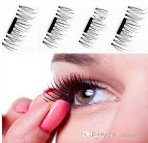 0da3753a052 Magnetic Eye Lashes 3D False Magnet Eyelashes Extension 3D Fake Eyelashes  Magnetic Eyelashes =set With Retail Package Makeup Best False Lashes From  Huangdai ...