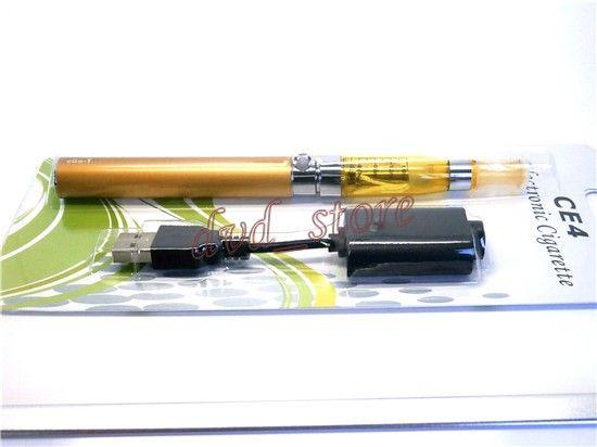 EGO T CE4 Blister Kit E Cigarettstartpaket för ejuice 650mAh 900mAh 1100mAh Vape Batteri med 1,6 ml Tom Atomizer 10 färger