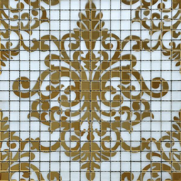 2019 Crystal Glass Puzzle Mosaic Tile Mirror Sheets