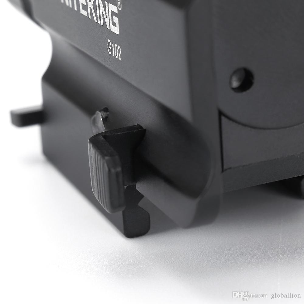NITEKING G102 LED Tactical Gun Lampe de poche 2-Mode 600LM pistolet arme de poing lampe de poche Taschenlampe