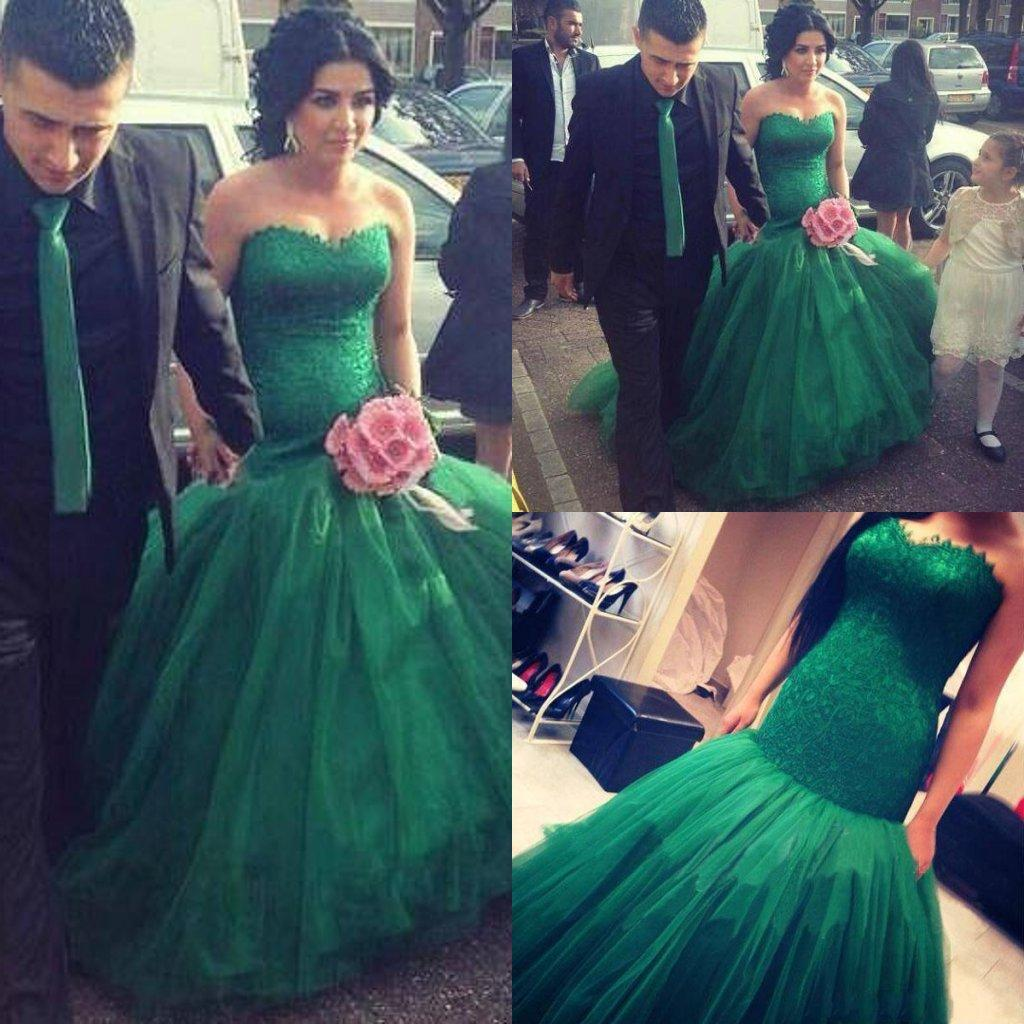 Unique emerald green mermaid wedding dresses 2015 new style tulle unique emerald green mermaid wedding dresses 2015 new style tulle lace appliqued sweetheart chapel train backless bridal dress wedding gowns mermaid wedding junglespirit Image collections