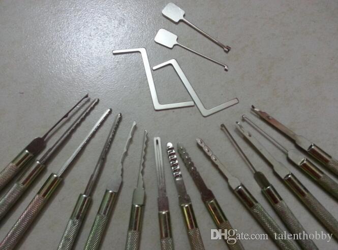 Schlosserwerkzeuge Computer-Bohrmaschine, Verschluss-Auswahl Schlosser liefert mit Tasche Set