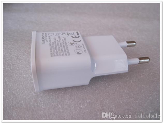 300 adet USB Duvar Şarj 5 V 2A AB ABD Plug AC Seyahat Adaptörü için Galaxy Not 2 3 N7100 N9000 S3 S4 S5 I9600 Güç Kaynağı Yüksek Kalite