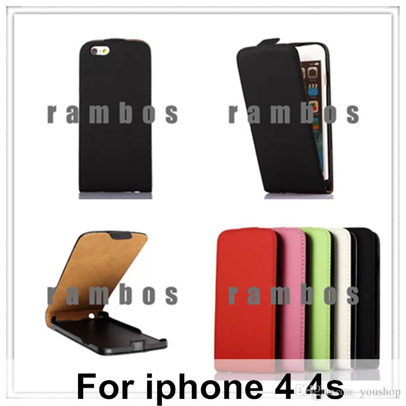 luxury brand flip leather vertical cell phone case cover pouch for