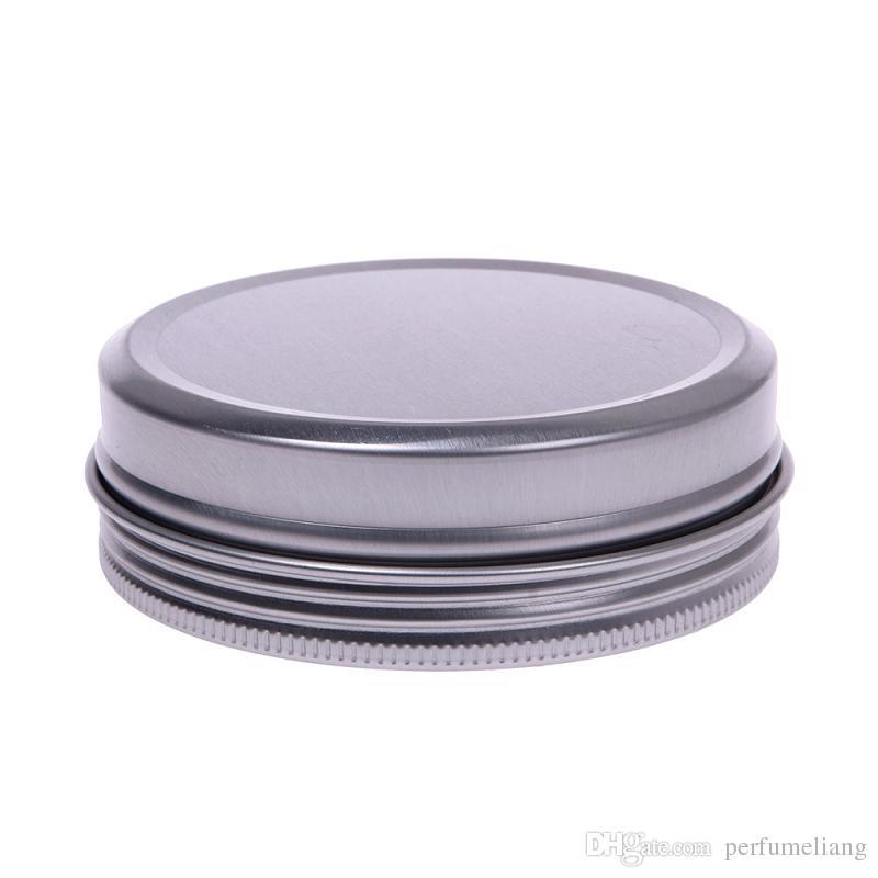 5 10 15 30 60 100 150 200 250 ml Vuoto di alluminio cosmetici contenitori Pot balsamo labbra barattolo di latta crema unguento crema le mani scatola di imballaggio