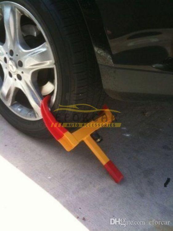 Nowy koło blokada Copper Boot Tire Claw Auto Car Ciężarówki RV Boat Trailer Anti-Theft Holowanie