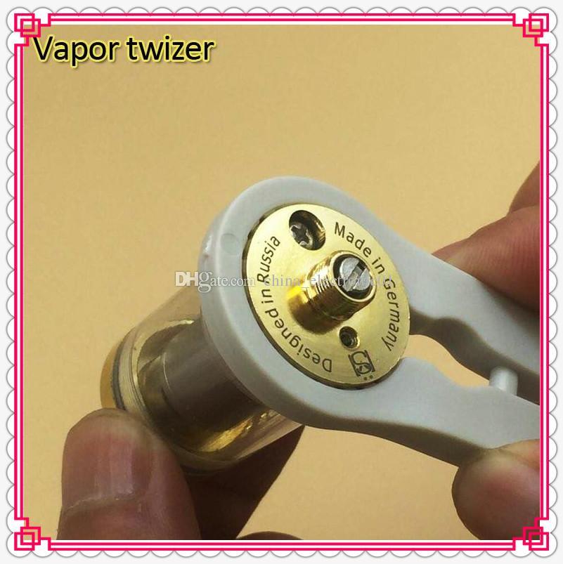 Colorful Multifunction Vaper Twizer Wrapping Coiler Adjustment Wire Spanner Tool Insulated Ceramic Tweezer for DIY RDA Vapor Ecig Vape