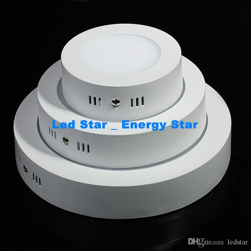 AC 85-265V 9W 15W 25W سطح شنت النازل عكس الضوء أدى ضوء لوحة SMD2835 الترا رقيقة سقف دائرة أسفل مصباح المطبخ الحمام