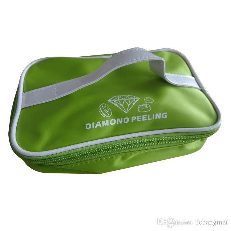 휴대용 다이아몬드 미세 박피술 Dermabrasion 진공 클렌징 페이셜 스킨 케어 기계 홈 케어 피부 필링 장비 CE