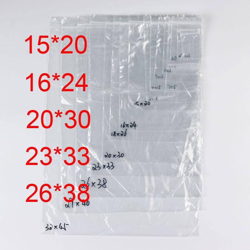 acheter pe sacs en plastique transparents fermetures glissi re ziplock zipper poly opp joint. Black Bedroom Furniture Sets. Home Design Ideas