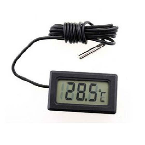 New Digital LCD Probe Fridge Freezer Thermometer Thermograph for Refrigerator Car Mini Thermometer Universal Temperature Gauge order<$15 no