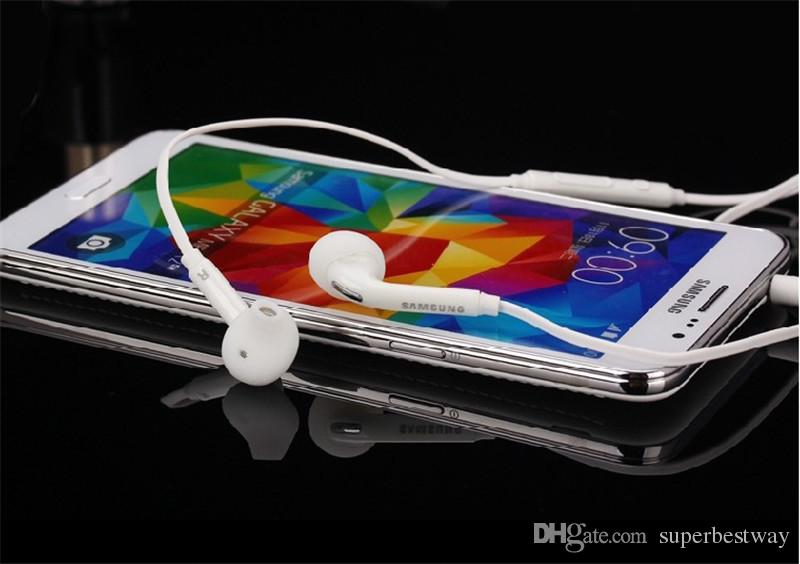 S6 G920F S6 EDGE G925 AURICULARES EO-EG920BW Auriculares estéreo Auriculares de calidad superior para Galaxy S4 S5 S6 Nota 4 EAR262