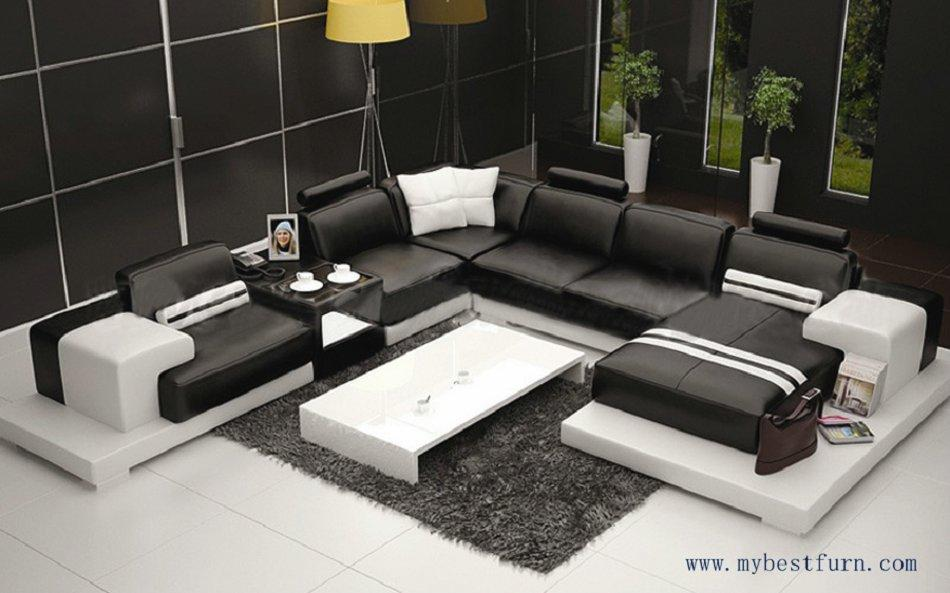2018 Multiple Combination Elegant Modern Sofa Large Size Luxury Fashion Style Best Living Room