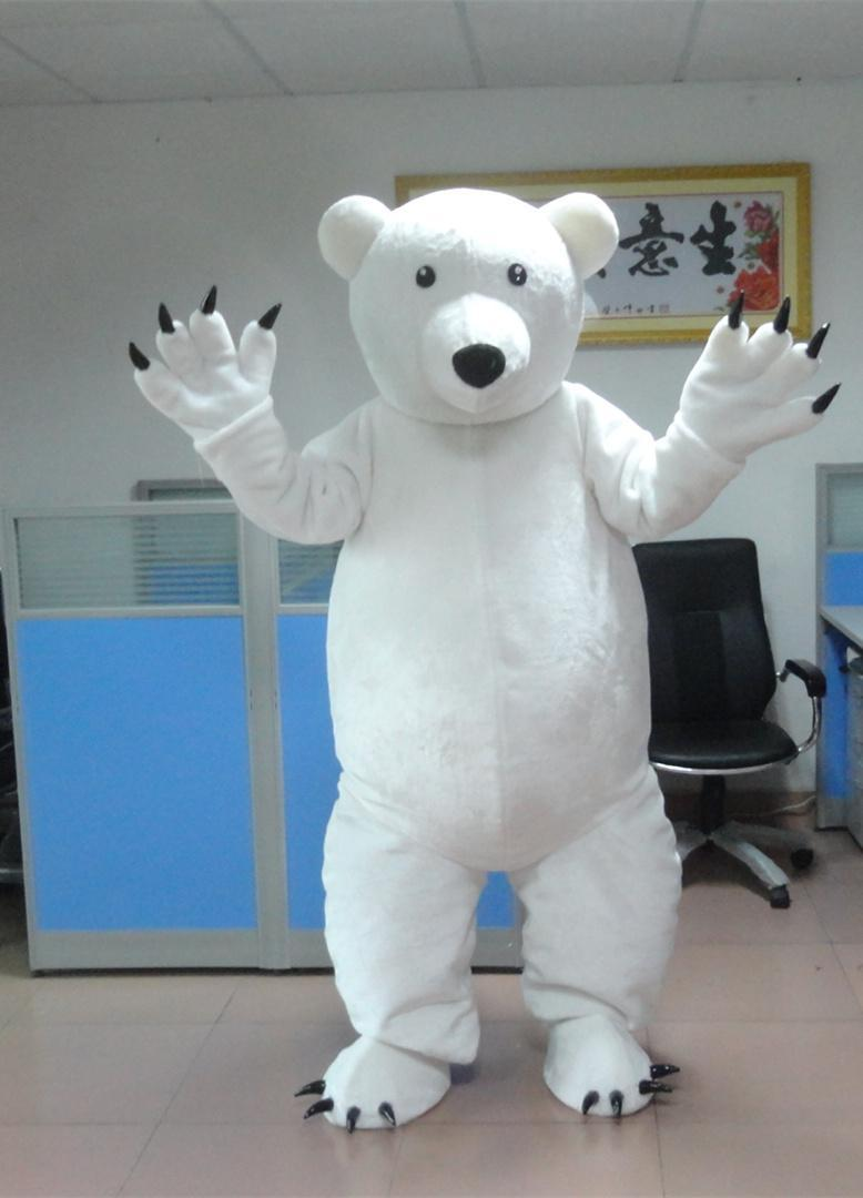 Custom Made Polar Bear Mascot Costume Mascot Costume Kids Size Mascots Costumes For Adult Birthday Party Cool Costumes Girls Costumes From Aisella ... & Custom Made Polar Bear Mascot Costume Mascot Costume Kids Size ...