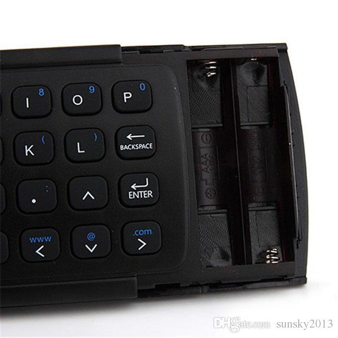 X8 Air Fly Mouse MX3 tastiera wireless 2.4GHz con telecomando a controllo remoto IR somatosensoriale senza microfono Android TV Box Smart Backlight