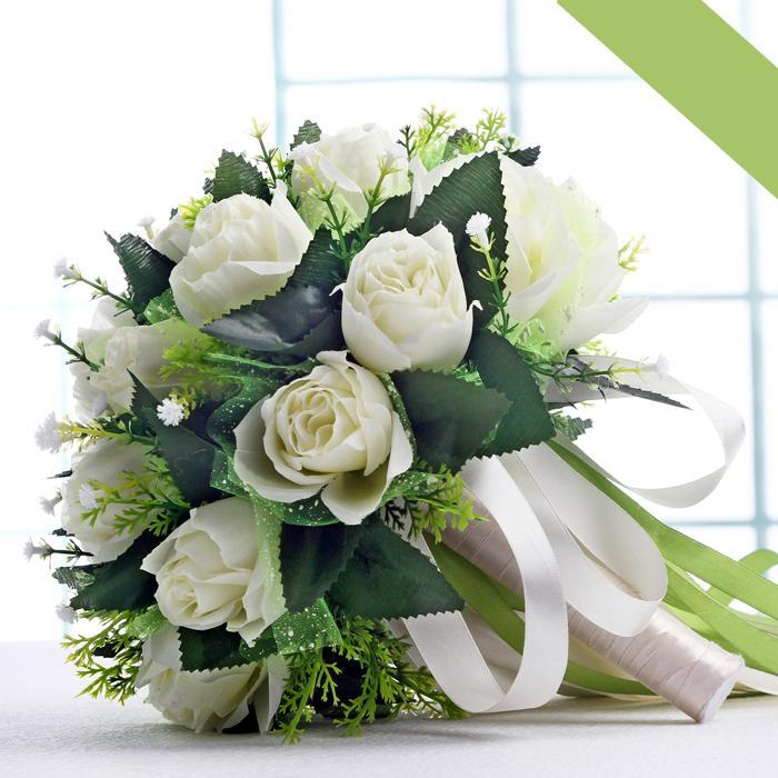 Korean Wedding Flowers: Wedding Bridal Flowers Bouquets White Roses 2015 Romantic