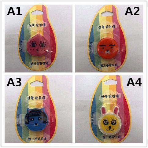 Neuer Art-Handy-Epoxid-Halter-Universalfinger-Tablette PC Sockets-Mobiltelefon-Klammer mit dem Kleinverpacken