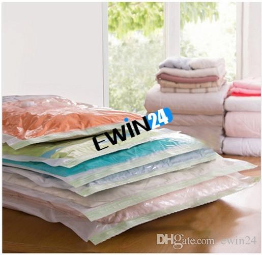 Hochwertige VACUUM COMPRESSION STORAGE BAGS-Assorted Größen Pack für platzsparende Verpackung für Ihre Kleidung 80 * 110CM