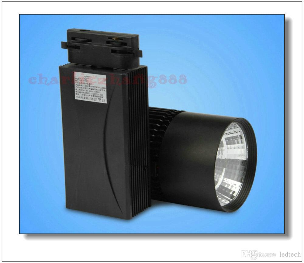 LED Rail Lighting 20W/30W Cloth Light Black/White Shell Led Ceiling Light Led Spotlight Led Projection Lamp Wall Lamp Track Lighting