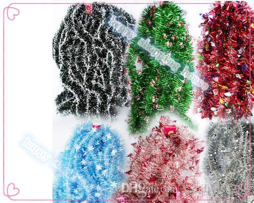 6 adet şapka Ücretsiz kargo Yılbaşı ağacı süslemeleri garlands üst şerit çizgili üst düğün dekorasyon garland madder şifreleme